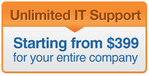 Unlimited IT Support - From $399 per month
